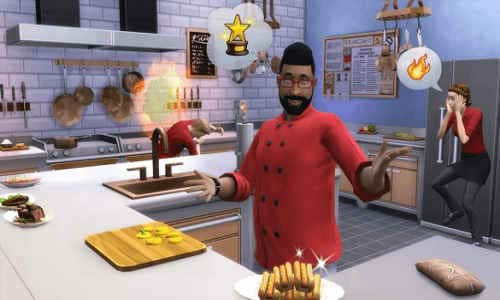 The Sims 4 Cool Kitchen PC Game Free Download
