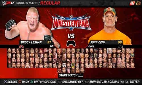 WWE 2K17 PC Game Free Download