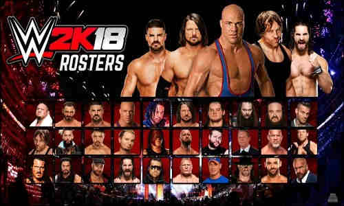 WWE 2K18 PC Game Free Download